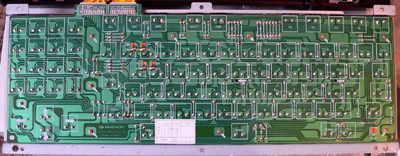клавиатура MSX компьютера
